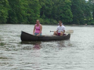 New River Paddling with Family
