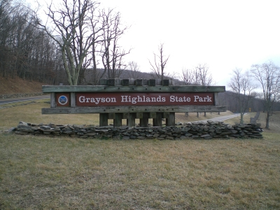 Grayson Highlands in the Snow