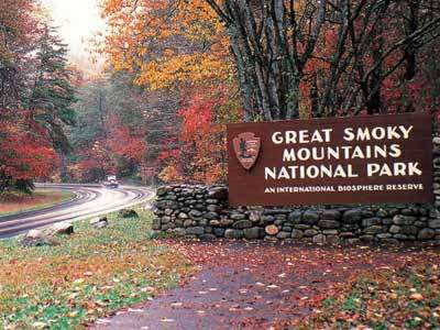 Smoky Mountain Park in Winter