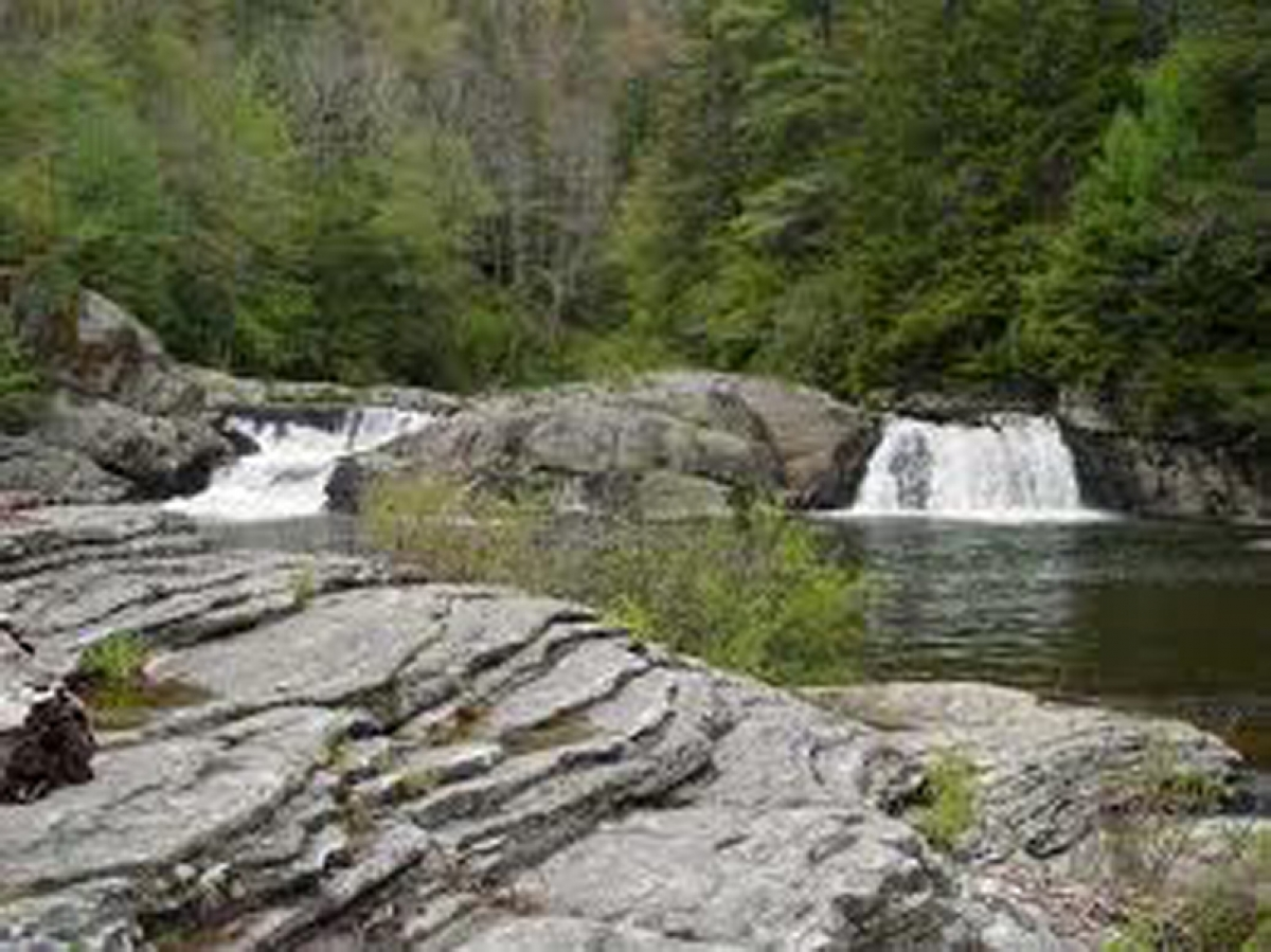 Linville Gorge Water Slide