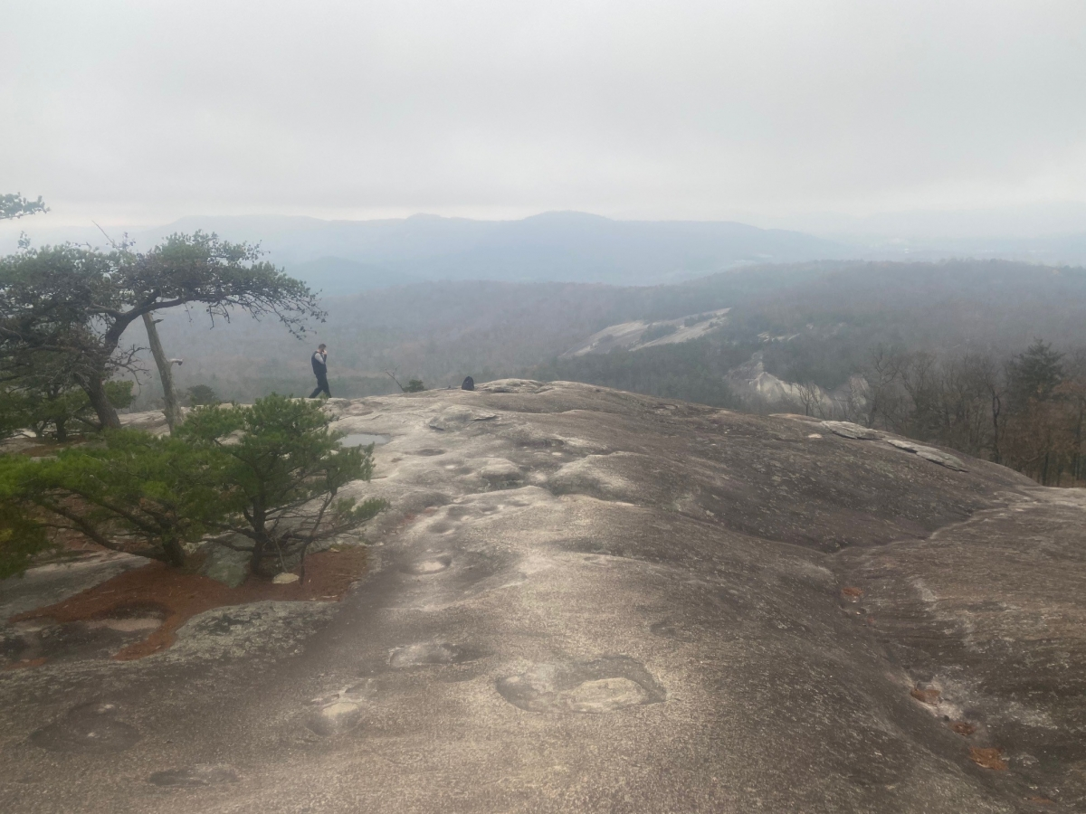 Stone Mountain Park in the Fall