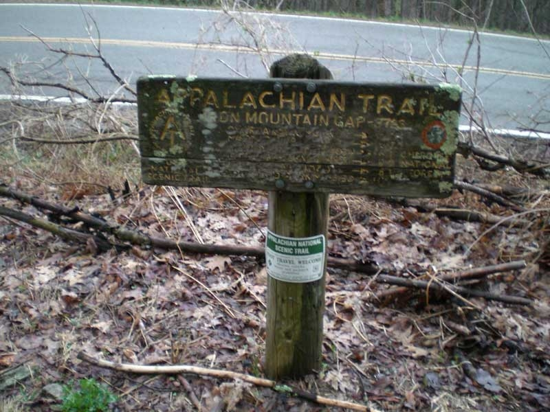 Appalachian Trail on Roan Mountain